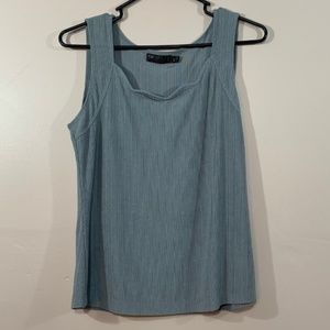 Picadilly Wide Strap Newburg Green Tank Top S/P